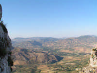 I monti Sicani dal Pizzo di Caltabellotta  - Caltabellotta (1789 clic)