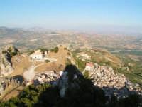 Caltabellotta dal Pizzo a 950 m. slm  - Caltabellotta (4194 clic)