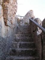 la scalinata che condice al Pizzo di Caltabellotta  - Caltabellotta (2176 clic)