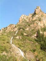 Spettacolare cascata che confluisce del fiume Sosio  - San carlo di chiusa sclafani (2112 clic)