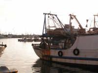 Pescherecci nel porto di Sciacca al tramonto  - Sciacca (3057 clic)