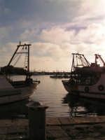 Il porto di Sciacca al tramonto  - Sciacca (1648 clic)