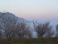 L'arrivo di una velata di foschia durante un tramonto primaverile  - Caltabellotta (1382 clic)