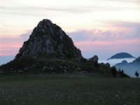 L'arrivo di una velata di foschia durante un tramonto primaverile  - Caltabellotta (1306 clic)