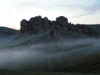 L'arrivo di una velata di foschia durante un tramonto primaverile  - Caltabellotta (1343 clic)