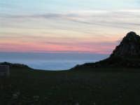 L'arrivo di una velata di foschia durante un tramonto primaverile  - Caltabellotta (1325 clic)