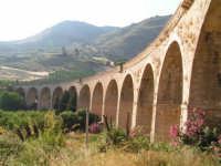 La Ex Linea Ferroviaria Burgio - San Carlo - Castelvetrano: Viadotto sul fiume Sosio nei pressi di San Carlo  - San carlo di chiusa sclafani (1873 clic)