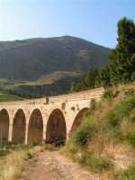 La Ex Linea Ferroviaria Burgio - San Carlo - Castelvetrano: Viadotto nei pressi di San Carlo  - San carlo di chiusa sclafani (2564 clic)
