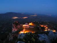 Paesaggio Notturno della Cattedrale di Caltabellotta vista dal Monte Castello  - Caltabellotta (1386 clic)