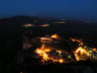 Paesaggio Notturno della Cattedrale di Caltabellotta vista dal Monte Castello  - Caltabellotta (1390 clic)