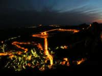 Paesaggio Notturno di Caltabellotta visto dal Monte Castello  - Caltabellotta (1802 clic)