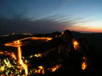 Paesaggio Notturno di Caltabellotta visto dal Monte Castello  - Caltabellotta (1389 clic)