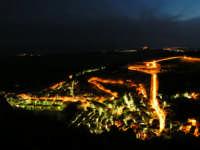 Paesaggio Notturno di Caltabellotta visto dal Monte Castello  - Caltabellotta (1306 clic)