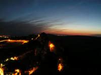 Paesaggio Notturno di Caltabellotta visto dal Monte Castello  - Caltabellotta (1638 clic)
