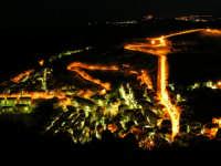 Paesaggio Notturno di Caltabellotta visto dal Monte Castello  - Caltabellotta (1359 clic)