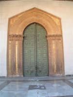Vista del portale del Duomo di Monreale  - Monreale (2819 clic)