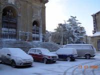 Vedete la rara neve in Piazza Duomo  - Enna (8184 clic)