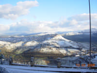 Paesaggio ennese innevato   - Calascibetta (8467 clic)