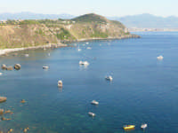 La piccola baia di Capo Milazzo  - Milazzo (7936 clic)