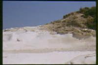 rocce bianche che affacciano sul mare  - Eraclea minoa (6825 clic)