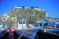 Il Castello visto da Marina Corta.  - Lipari (3205 clic)
