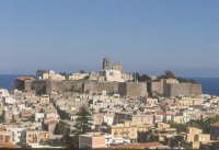 panorama del centro urbano.  - Lipari (7089 clic)