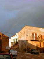arcobaleno a piazza belvedere  - Sommatino (6116 clic)