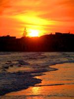 tramonto marittimo  - Sampieri (1672 clic)