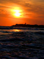 tramonto marittimo  - Sampieri (1737 clic)