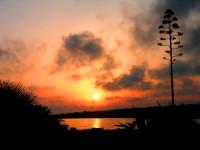 tramonto marino  - Sampieri (1408 clic)