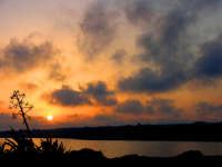 tramonto marino  - Sampieri (1393 clic)
