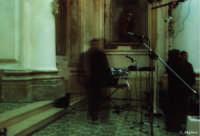 Prima dello spettacolo Un segno di pace 2003, Chiesa di S.Paolo   - Modica (5235 clic)