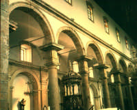 Chiesa Madre di S.Agata interno archi della navata centrale  - Alì (2974 clic)