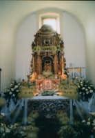Chiesa Madre di S.Agata Giovedi Santo 2004 Altare della Reposizione  - Alì (7825 clic)