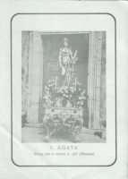 Cartolina di S.Agata anni 60  - Alì (3333 clic)
