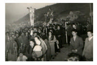 Processione di S.Agata anni 50  - Alì (4557 clic)