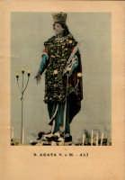 Cartolina di S.Agata anni 50  - Alì (3283 clic)