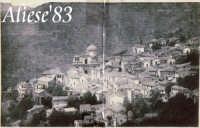 Vista panoramica di Alì del 1919  - Alì (3953 clic)