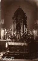 Chiesa Madre Cappella del SS.Sacramento anni 20  - Alì (3794 clic)