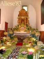 Altare della Reposizione edizione 2010 Chiesa Madre S.Agata  - Alì (8896 clic)