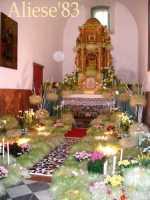 Altare della Reposizione edizione 2010 Chiesa Madre S.Agata  - Alì (4048 clic)