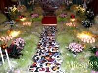 Altare della Reposizione edizione 2010 Chiesa Madre S.Agata  - Alì (5566 clic)
