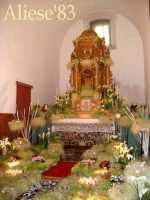 Altare della Reposizione edizione 2010 Chiesa Madre S.Agata  - Alì (4630 clic)