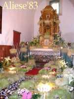Altare della Reposizione edizione 2010 Chiesa Madre S.Agata  - Alì (6872 clic)