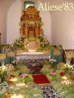 Altare della Reposizione edizione 2010 Chiesa Madre S.Agata  - Alì (4811 clic)
