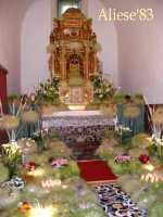 Altare della Reposizione edizione 2010 Chiesa Madre S.Agata  - Alì (10279 clic)