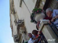 Festa della Vara 12 Agosto 2007 Scorcio della facciata del Santuario Maria SS. Annunziata  - Fiumedinisi (2576 clic)
