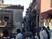 Festa della Vara 12 Agosto 2007 La Vara arriva a Piazza Matrice  - Fiumedinisi (2468 clic)