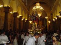 Festa della Vara 12 Agosto 2007 Processione dei simulacri dell' Arcangelo Grabriele e di Maria SS. Annunziata  - Fiumedinisi (2515 clic)