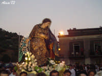 Festa della Vara 12 Agosto 2007 Processione dei simulacri dell'Arcangelo Gabriele e di Maria SS. Annunziata  - Fiumedinisi (2347 clic)